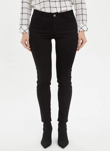 DeFacto Slim Fit Pantolon Siyah